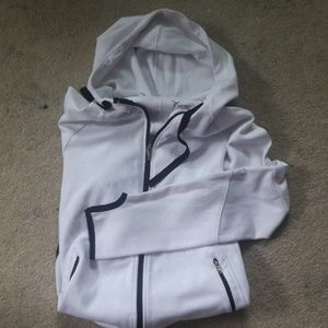 Old navy active white hoodie